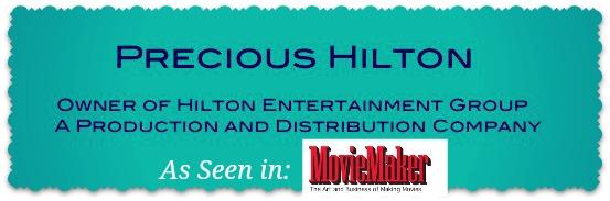 Precious Hilton Personal Site